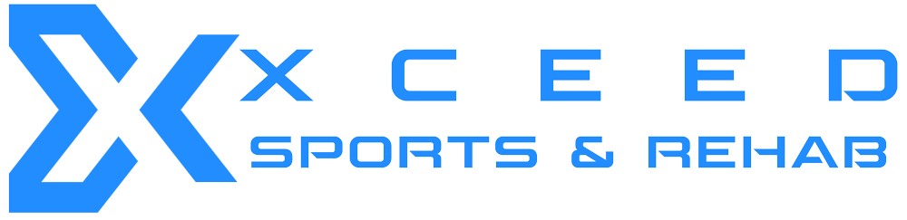 The horizontal logo for Xceed Sports & Rehab
