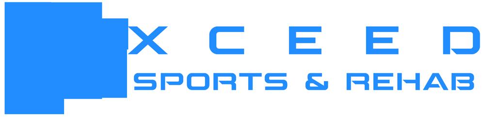 The horizontal logo for Xceed Sports & Rehab